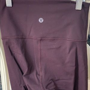 Lululemon Wunder Under Lulon Crop High Rise Size 2